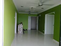 ubah suai rumah di APARTMENT LAGUNA BIRU,TASIK BIRU,KUNDANG.