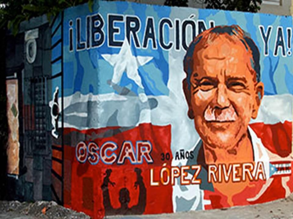 ¡Libertad a Oscar López Rivera!