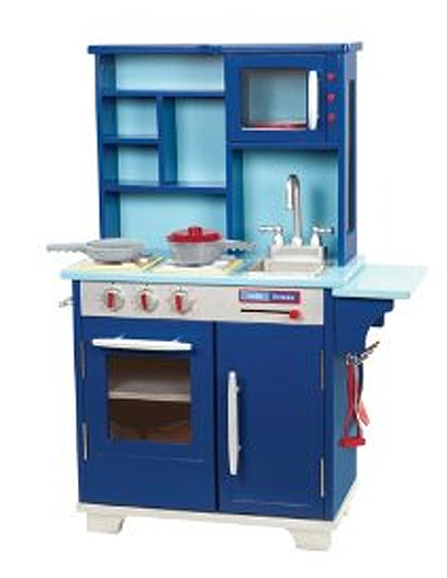 Blue Wooden Play Kitchen boys play kitchen how to choose the right play kitchen set for
