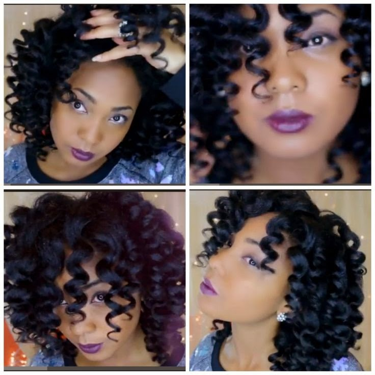 Braided Innovations Marley Hair Curled