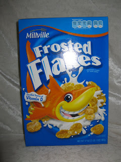 Aldi Millville frosted flakes