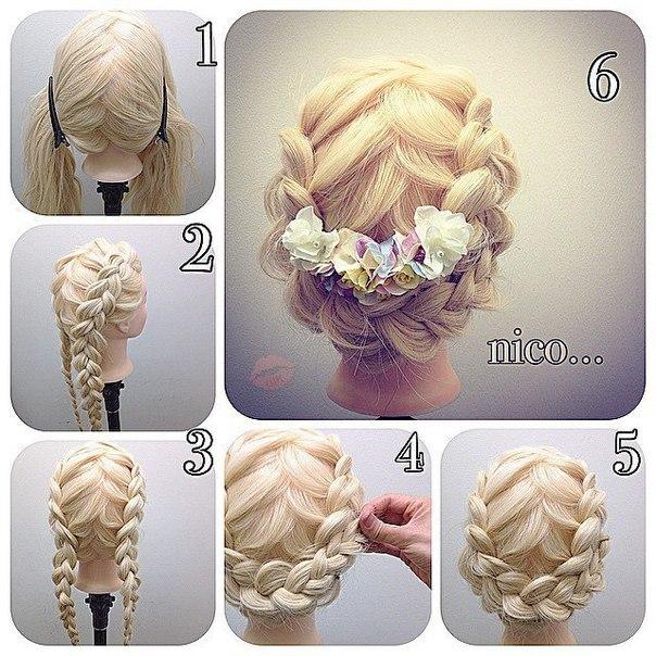 C mo hacer lindos peinados con trenzas f ciles - Como hacer peinados faciles ...