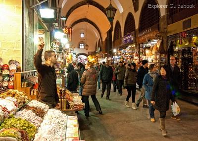 Tempat wisata terkenal di Turki istambul Istanbul spice bazaar