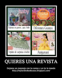 ¿Quieres una revista?