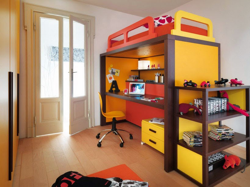Room-Design-Children-Bedroom-Furniture-Minimalist