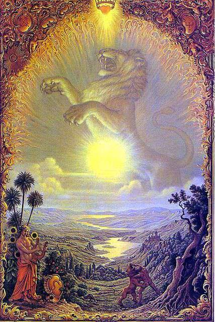 Signo de Leo, Zodiaco Johfra Bosschart