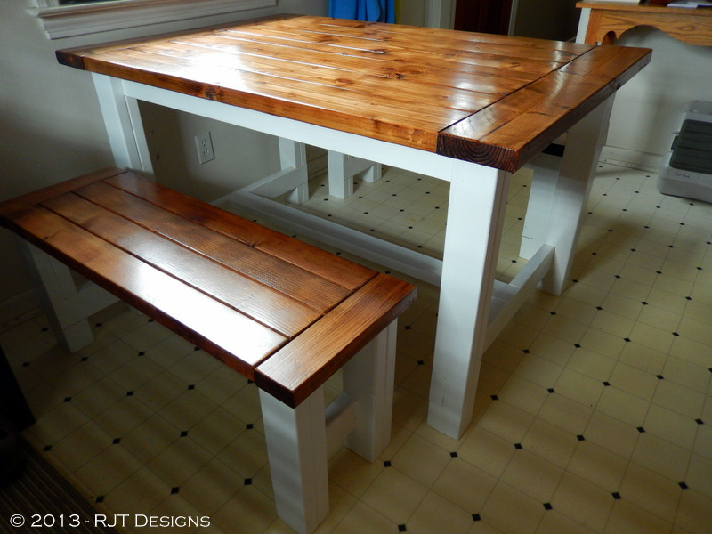 bepa's garden: building a farmhouse table