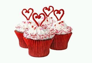 Cupcakes y Magdalenas de San Valentin
