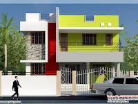 Modern minimalist Tamilnadu house design KeRaLa HoMeS