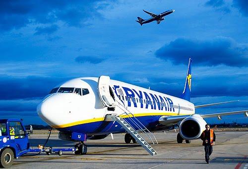 Los vuelos low cost de Ryanair sólo tendrán un baño por avión