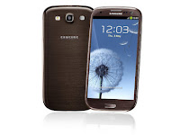samsung galaxy sIII brown