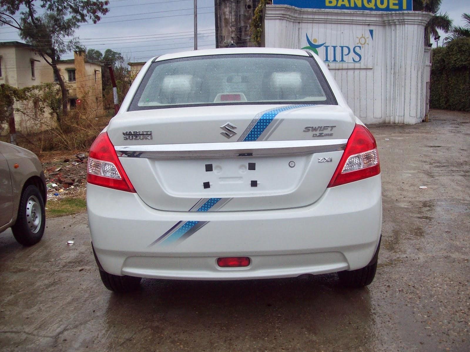 Car sticker design in bangalore - Maruti Swift Dzire Oe Full Stickering Designs
