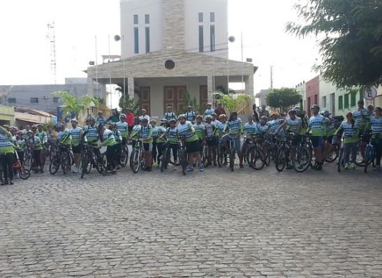 1° Passeio Ciclístico é realizado com sucesso em Camalaú