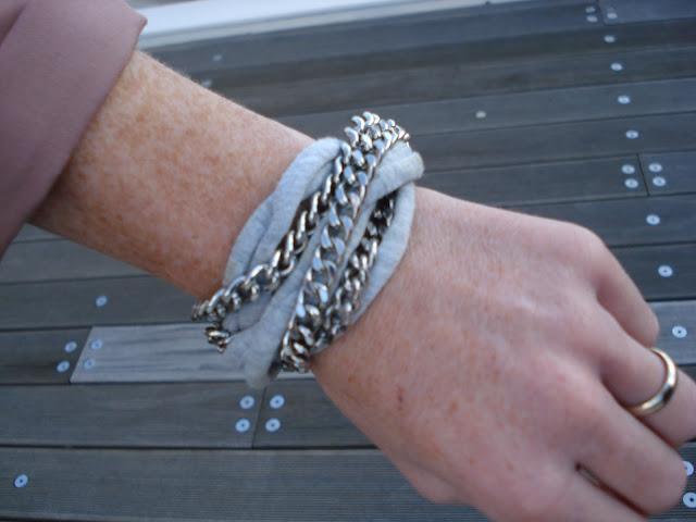 bracciale h&m, fashion blogger roma, chain bracelet hm, bracciale catene hm, ispiration, street style