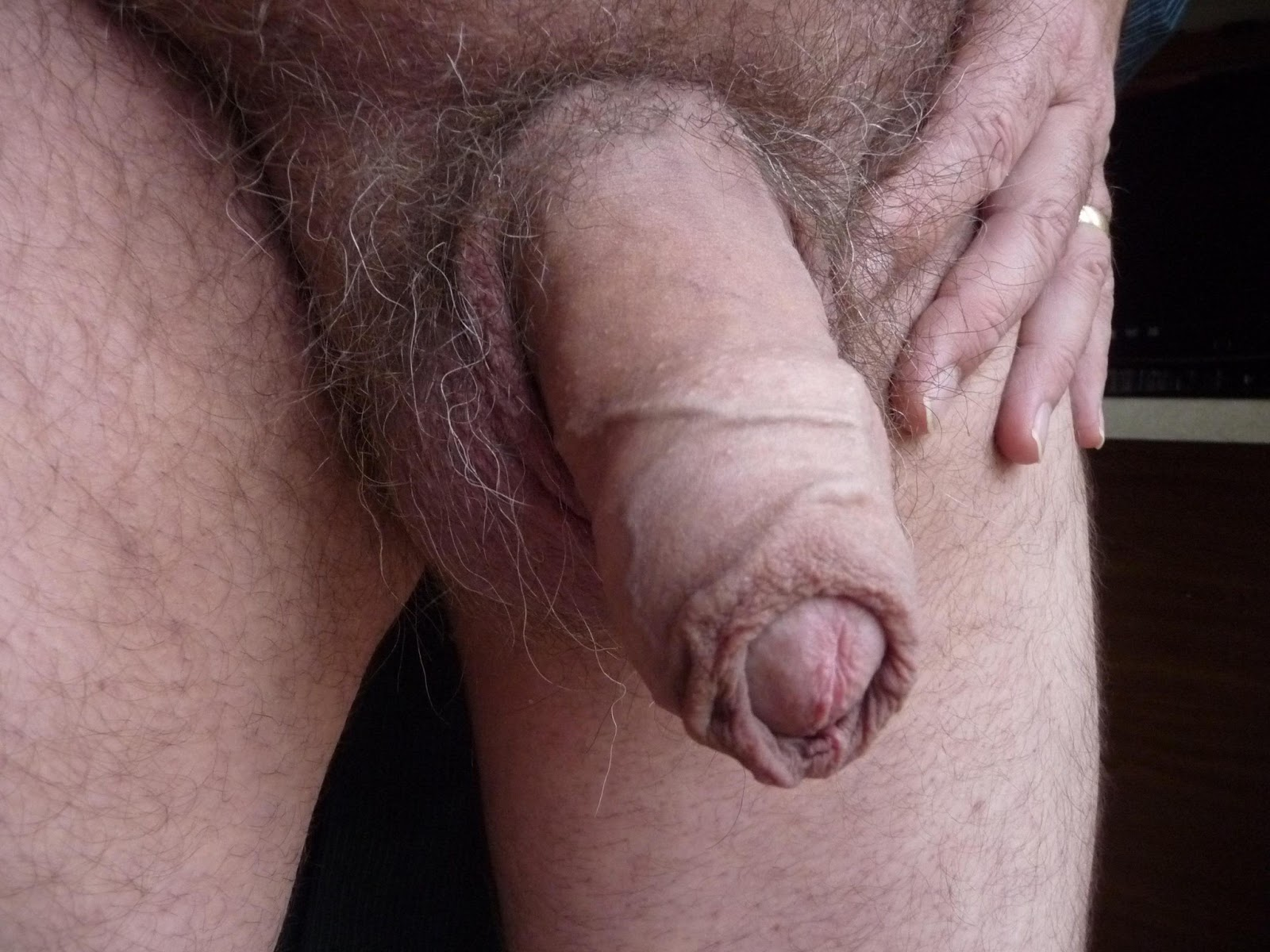 Daddy Wanking Cock