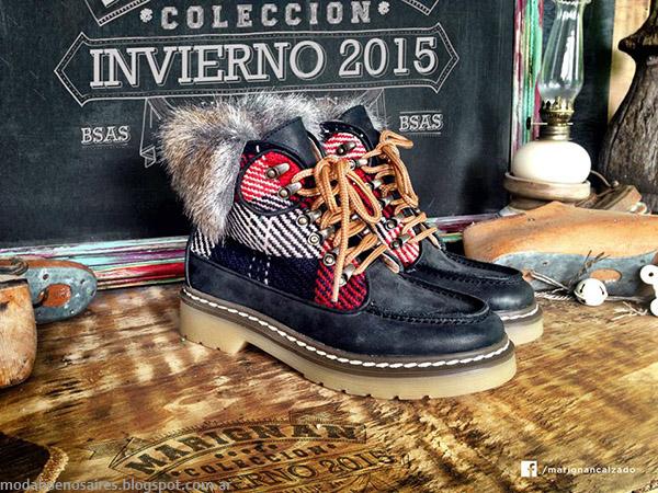 Botas y Zapatos otoño invierno 2015 Marignan. Moda zapatos otoño invierno 2015.