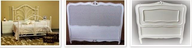 cabeceira de cama estilo provençal quarto de moça