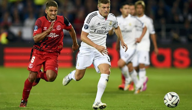 Ver partido Sevilla vs Real Madrid en vivo