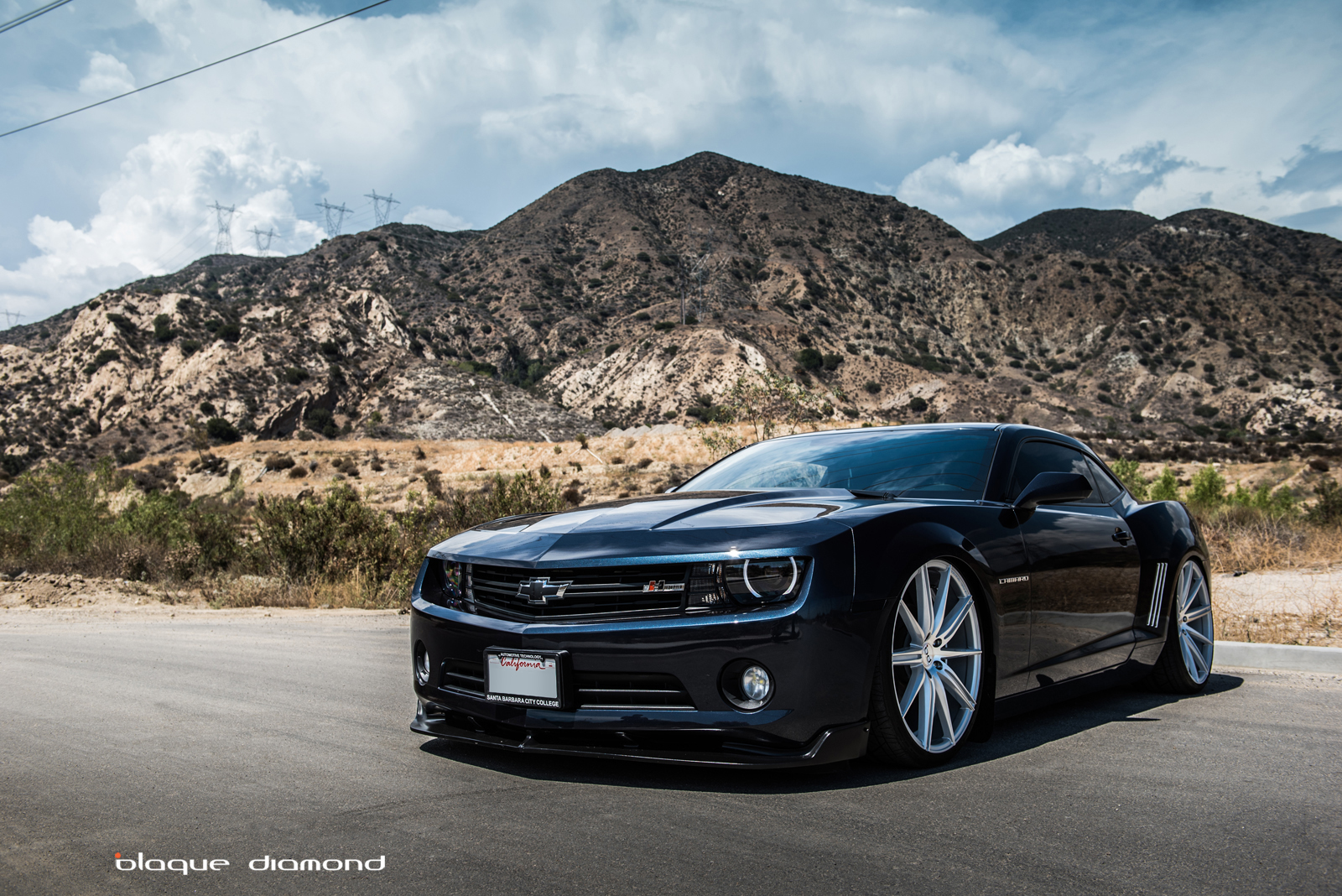 2015 chevy camaro fitted with 22 inch bd 9 s in silver blog. Black Bedroom Furniture Sets. Home Design Ideas