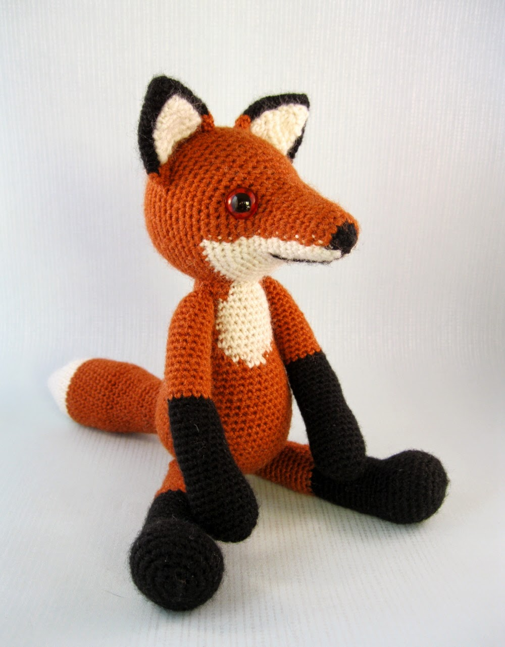 Fox Amigurumi Ravelry : LucyRavenscar - Crochet Creatures: Bracken the Fox
