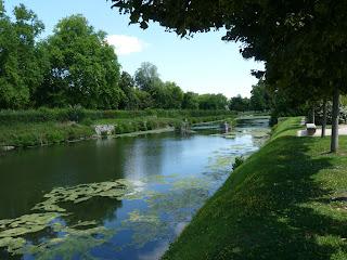 ランブイエ城の水辺