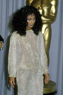 Cher at the 1983 Academy Awards