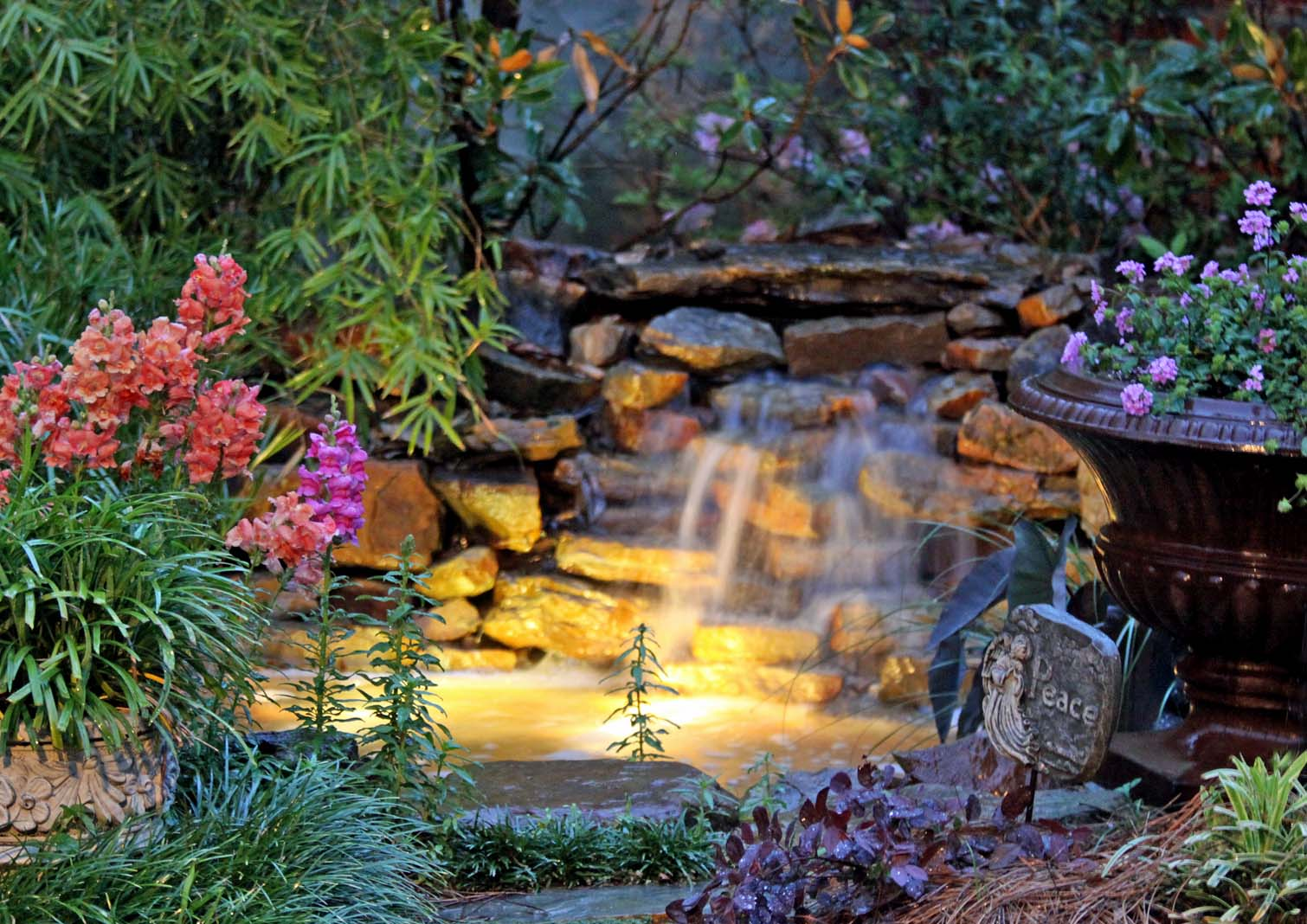 Twilight In Koi Pond >> Southern Lagniappe: March 2012