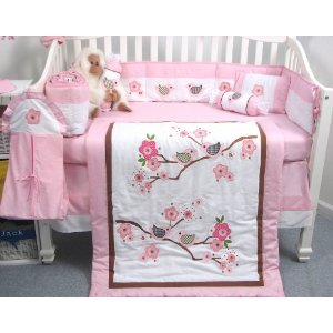 SoHo Love Bird Story bedding