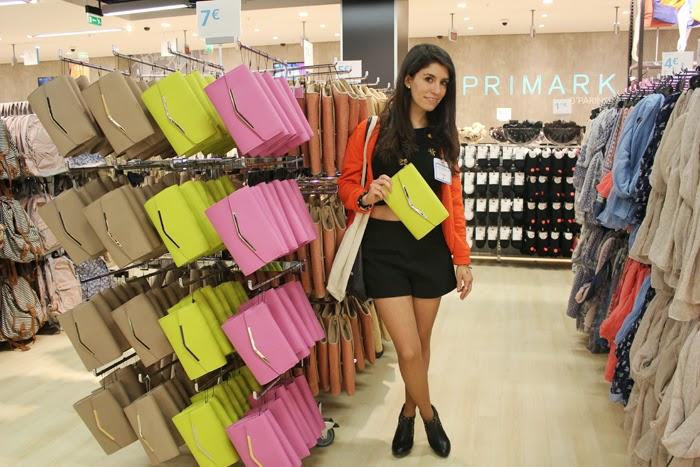 diana dazzling,  fashion blog, fashion blogger, primark, opening, paris, o'parinor