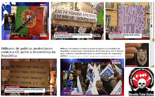 Revolução, Portuguesa, Manifestação, Policial, Associação, Sócio, Profissional, Polícia, ASPP, PSP, Polícias, Contra, Governo, Assembleia da República, Contra, Governo, Orçamento, Estado, Orçamento de Estado, Destruição, Portugal
