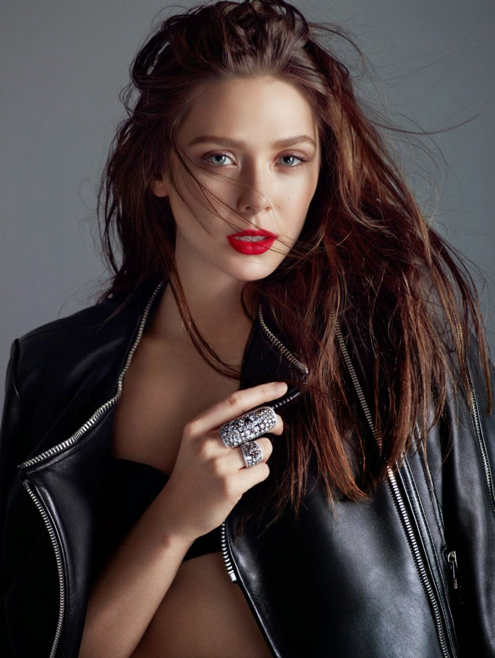 Elizabeth Olsen is seductive for the Flaunt Magazine May 2014 issue