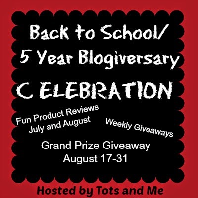 Back to School/5 Year Blogiversary Celebration