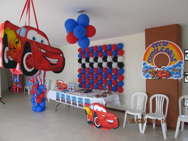 FIESTA TEMATICA CARS | Fiestas tematicas infantiles medellin ...