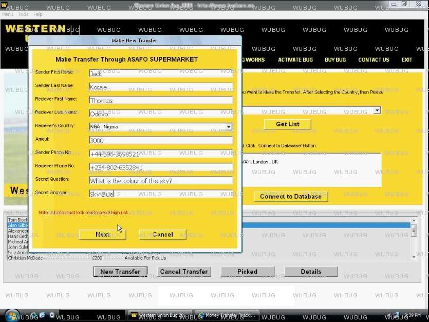 western union bug activation code keygen