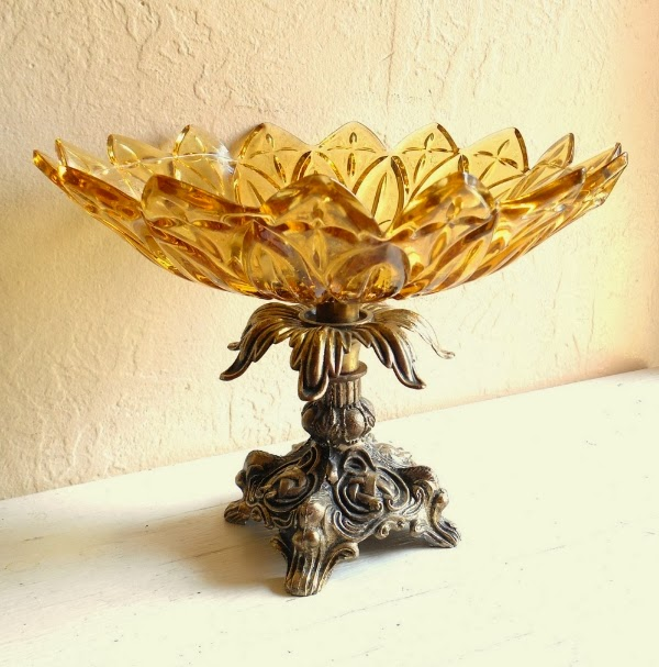Regency Style Dish #midcentury #regency #dish #decor