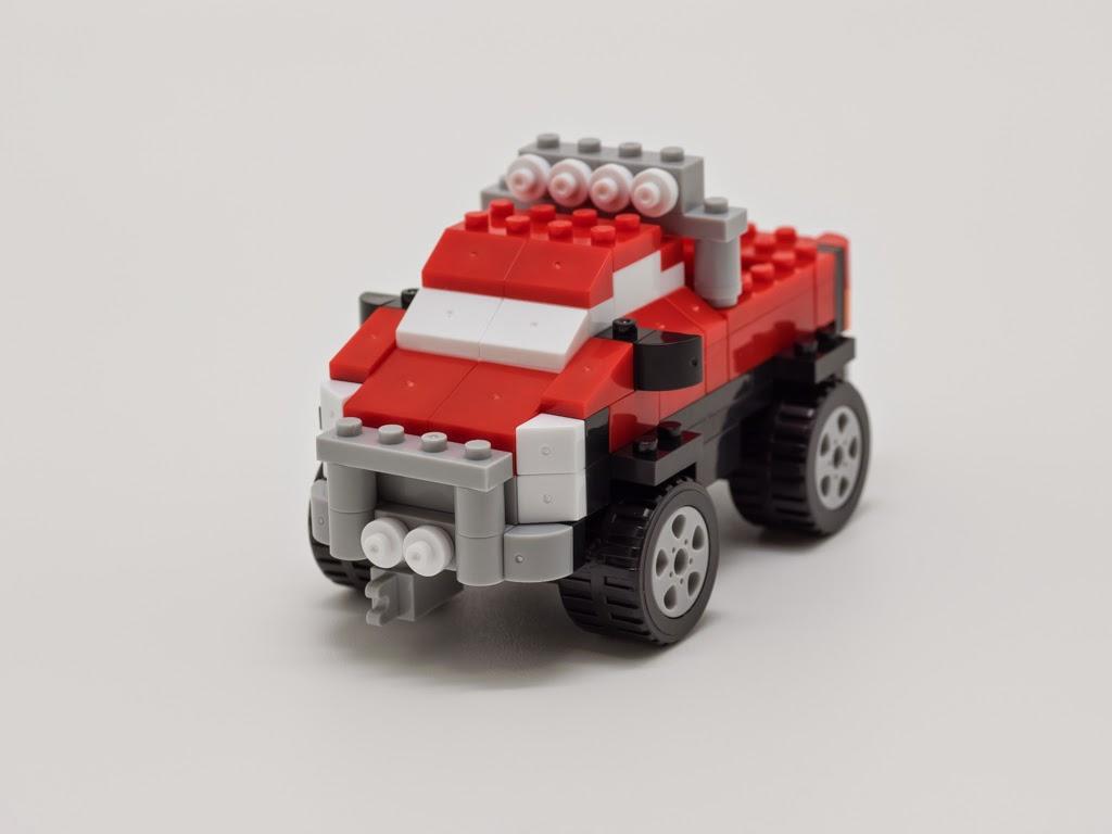 ナノブロックプラスで作った ピックアップトラック