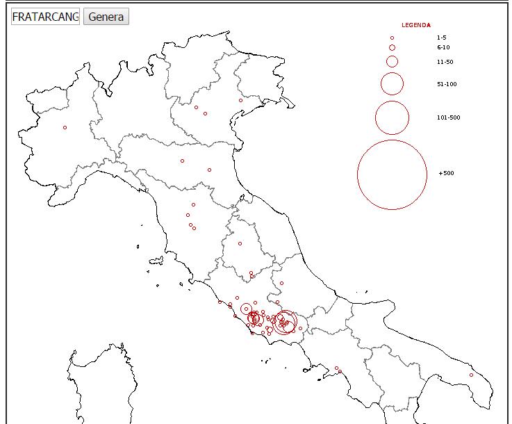 Guamod scuola studiare e imparare la geografia d 39 italia - Regioni italiane non bagnate dal mare ...