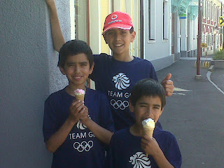 Left to right: Ibraheem aged 10, Yusuf aged 13 and Ieysaa aged 7