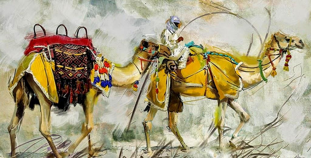 pinturas-de-paisajes-desiertos