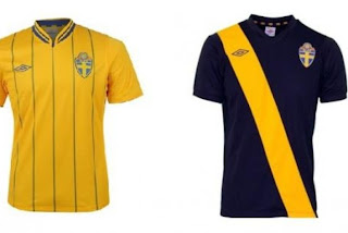 Kostum Swedia Euro 2012