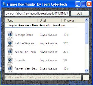 iTunes Downloader