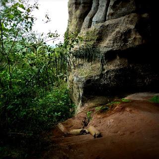 Parte Anterior do Salão das Estalactites, na Pedra do Segredo em Caçapava do Sul