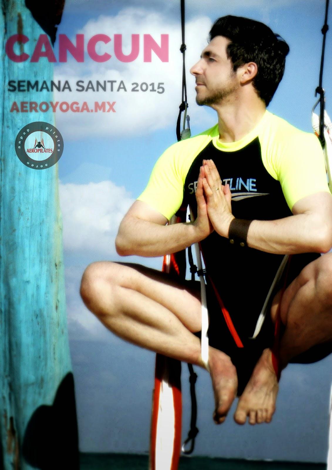 Yoga Aéreo Aero Pilates Rafael Martinez