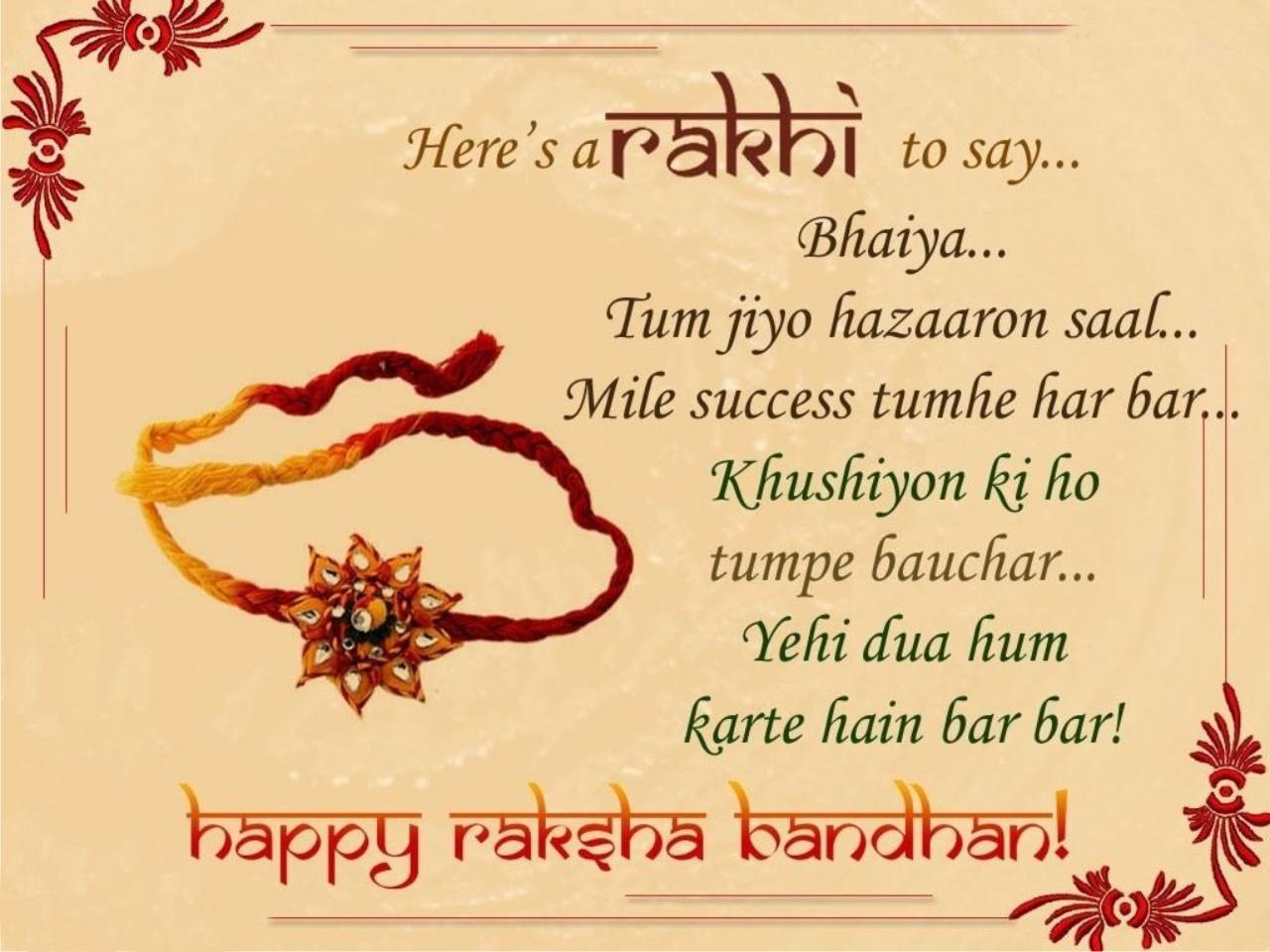 Essay in Hindi On Raksha Bandhan