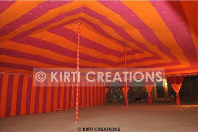 Artistic Raj Tent