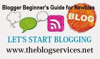 Blogger Beginner's Guide for Newbies