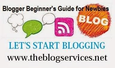 Blogger Beginner's Guide for Newbies