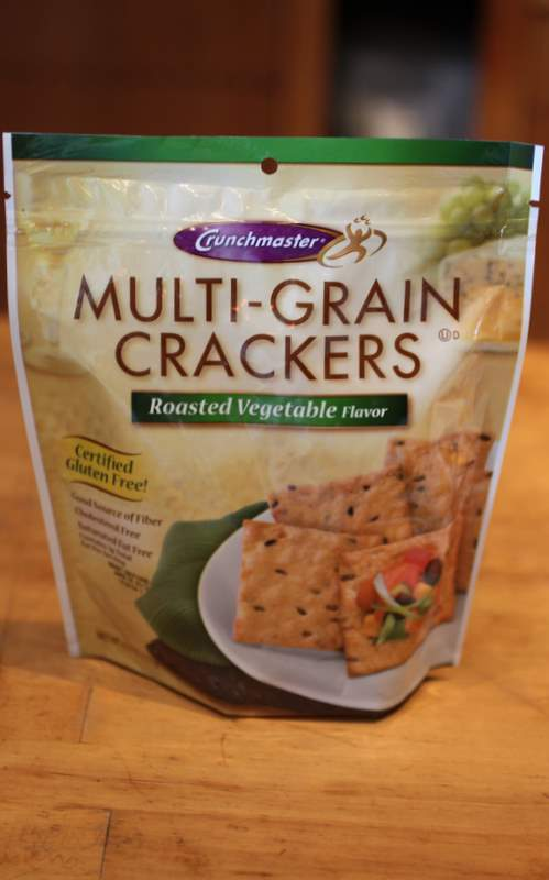 ... Gluten Free Crackers: Crunchmaster Roasted Vegetable Flavor Multi