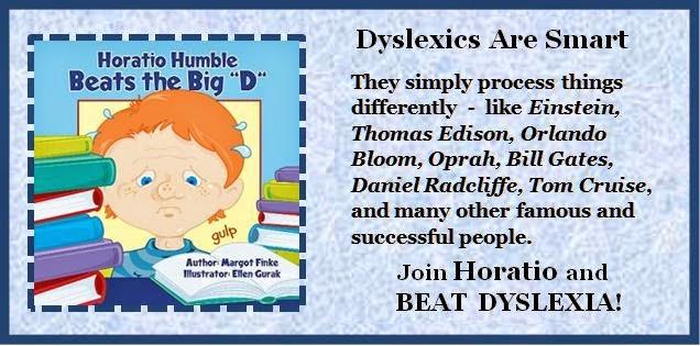 Horatio Humble Beats the Big D (dyslexia)