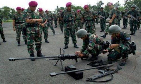 Komandan Korps Marinir Inspeksi Kesiapan Satgasmar Ambalat